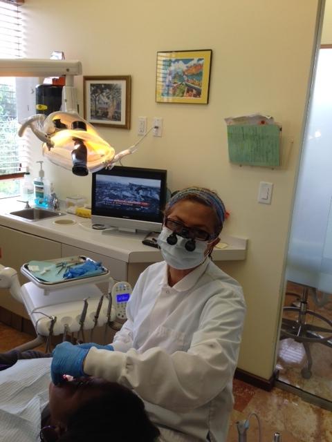 Dr.Ziadie at work